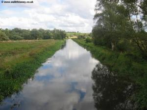 The River Wey from the bridge at Wareham's Farm