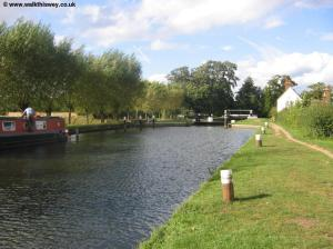 Approaching Triggs Lock