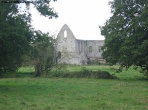 The remains of Newark Priory