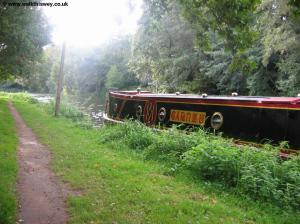 The narrow boat Carnzu