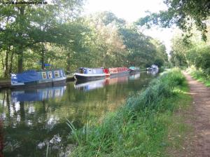 Narrow boats near Walsham Lock